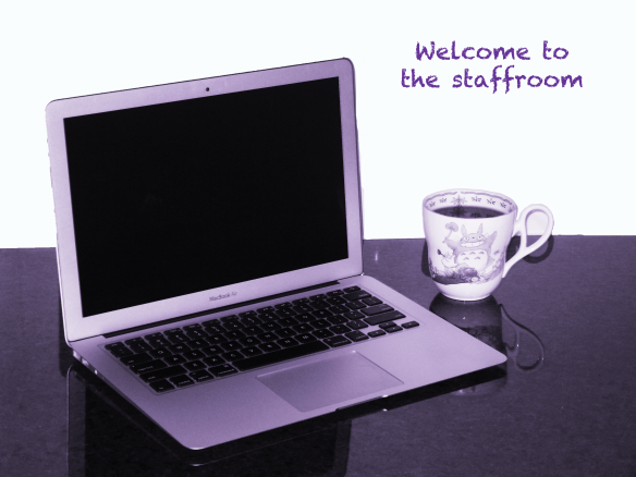 sit down with a nice cup of tea at your laptop